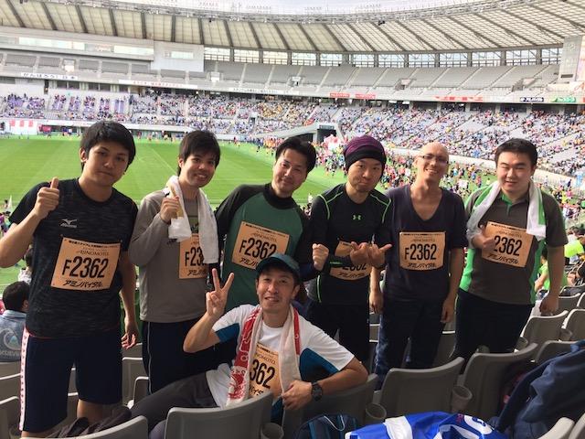 【イベント】味の素スタジアム6時間耐久リレーマラソン